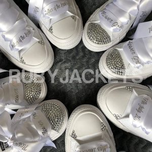 Personalised Bridesmaid Converse