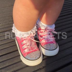 Pink Mini Rubes Converse
